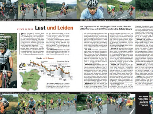 FOCUS-Artikel Tour de France